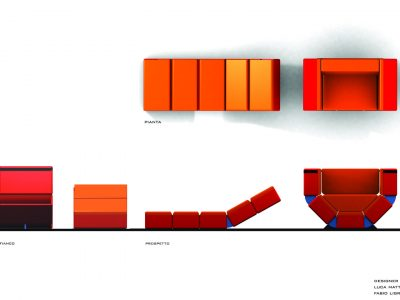 Armchair bed CLIC-CLAC