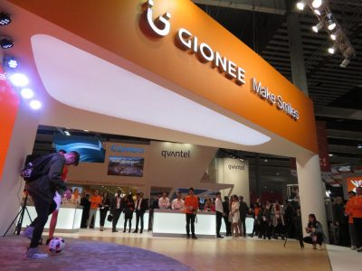 Gionee Booth